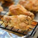 crispy chicken wings recipe