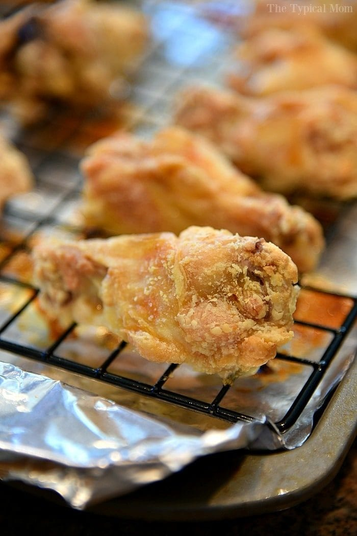 how to make crispy chicken wings