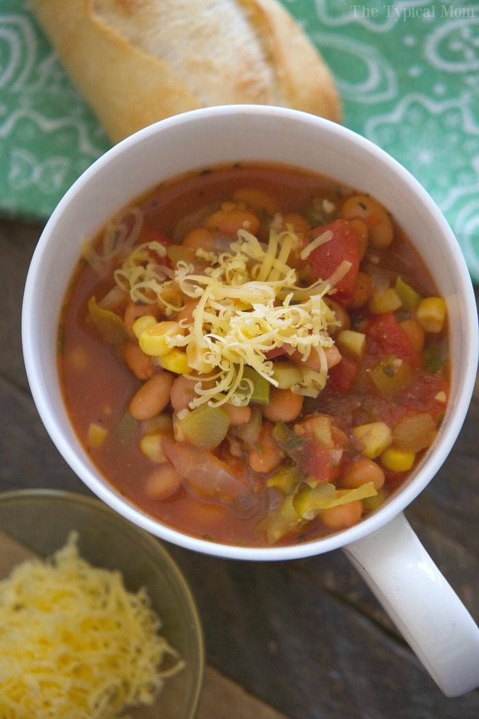Easy Chili Bean Recipe · The Typical Mom