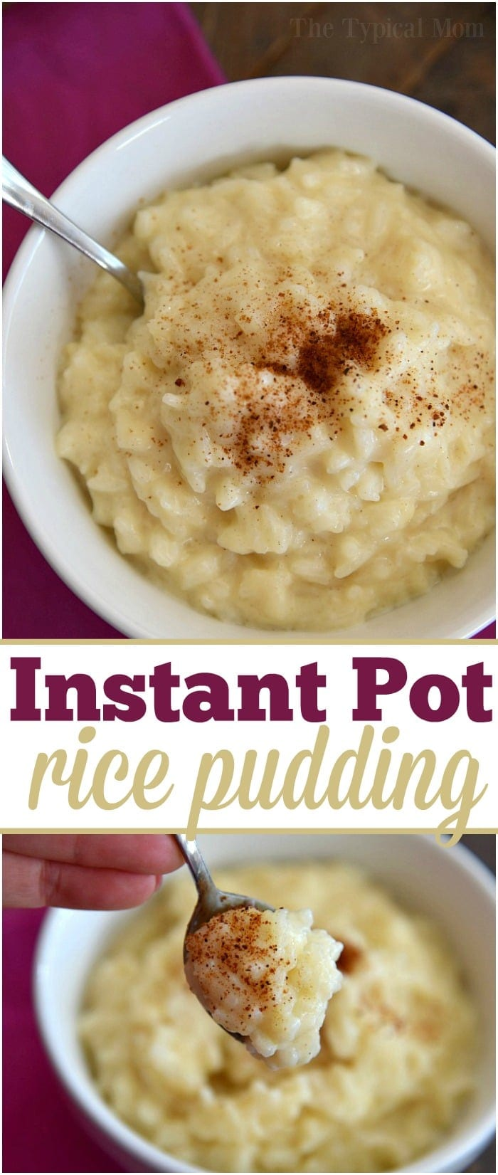 The Easiest Instant Pot Rice Pudding Recipe + Video
