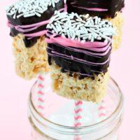 Rice Krispy Treat Pops