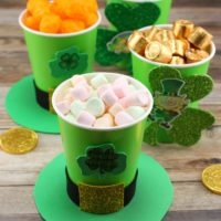 St. Patrick's Day Treat Cups