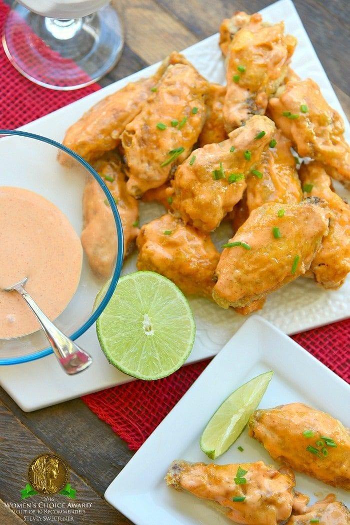 sweet sriracha baked chicken wings recipe
