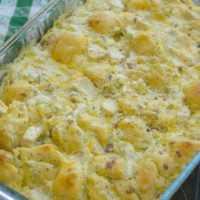 Throw Together Chicken Bacon Ranch Bake