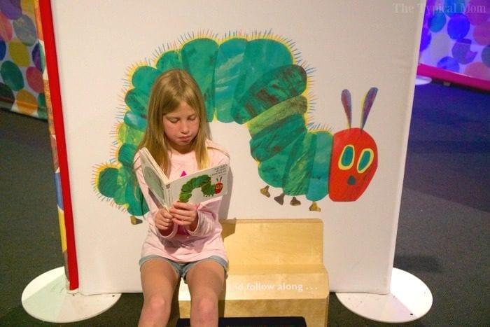discovery cube eric carle exhibit