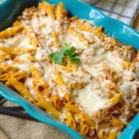 Cheesy and Easy Lasagna Casserole Recipe