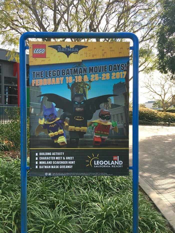 legoland batman movie