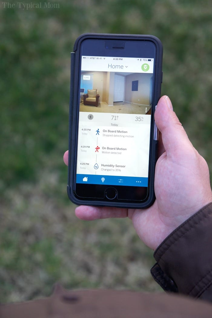 Smart Home Alarm System You Can Access On Your Phone The