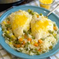 Amazingly Easy Pressure Cooker Chicken and Rice
