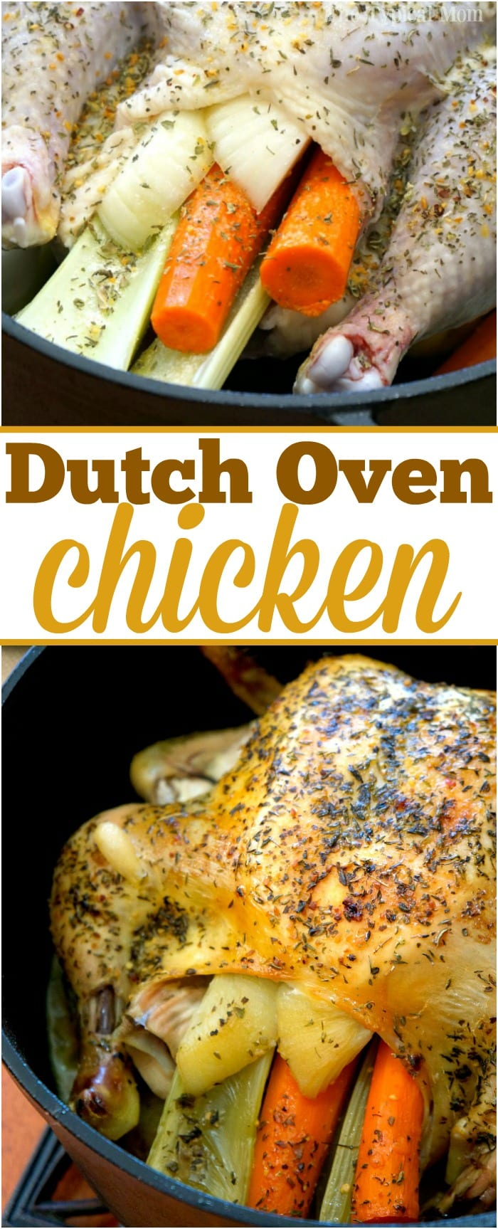 This Is How To Make A Dutch Oven Whole Chicken Its Super Easy And Flavorful