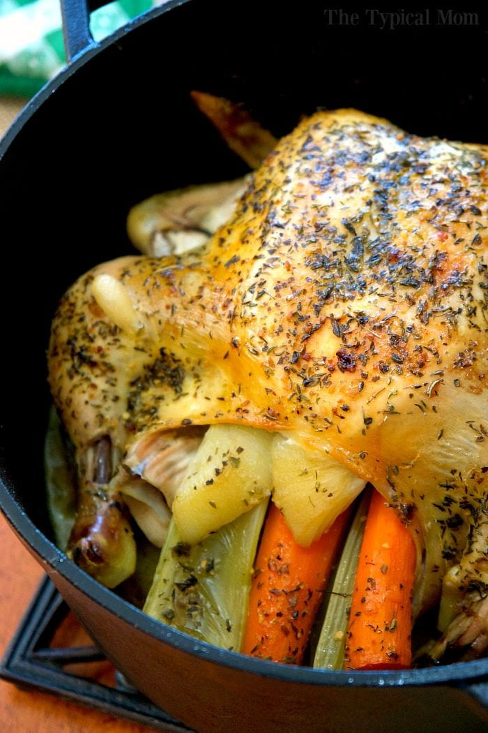 dutch oven whole chicken