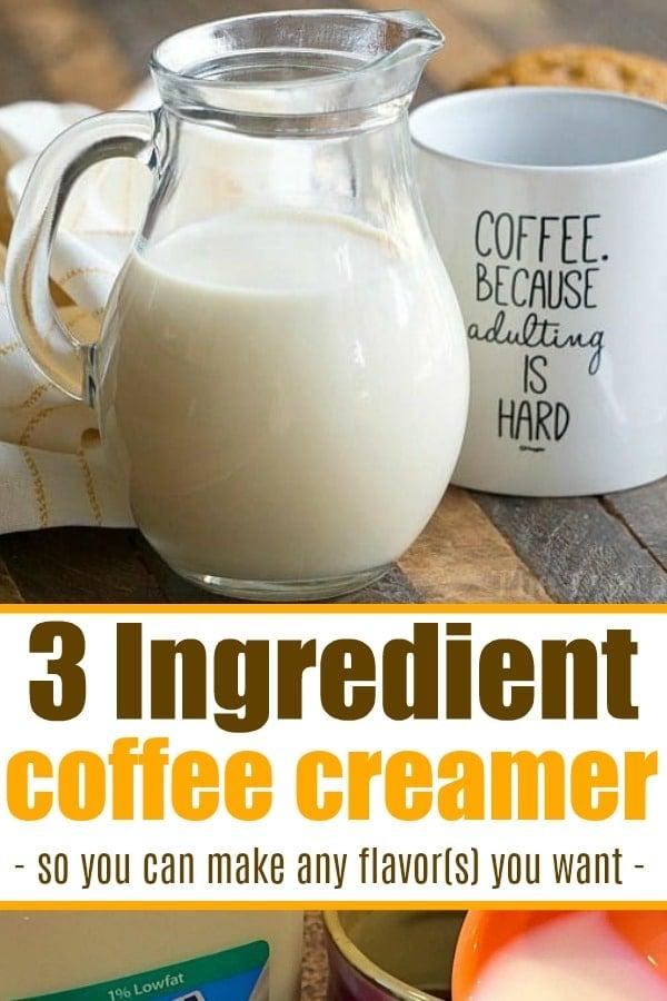 homemade creamer
