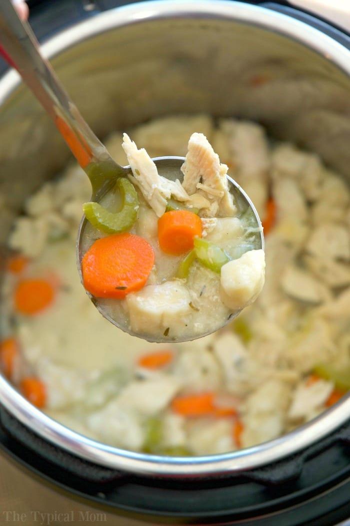 instant pot chicken and dumplings recipe