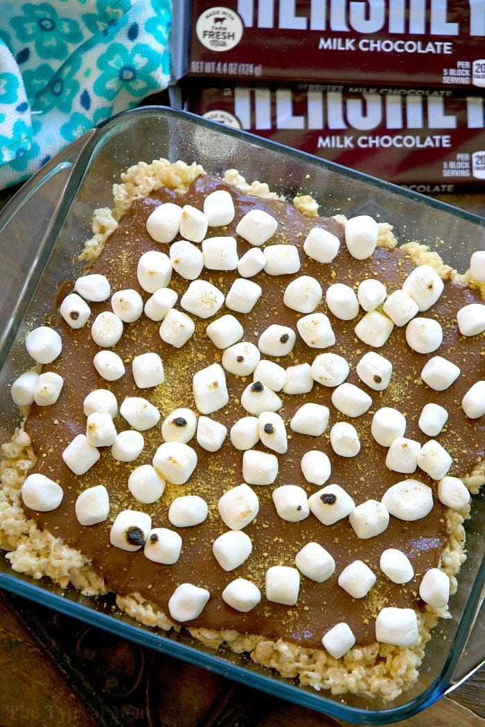smores rice krispy treats 2