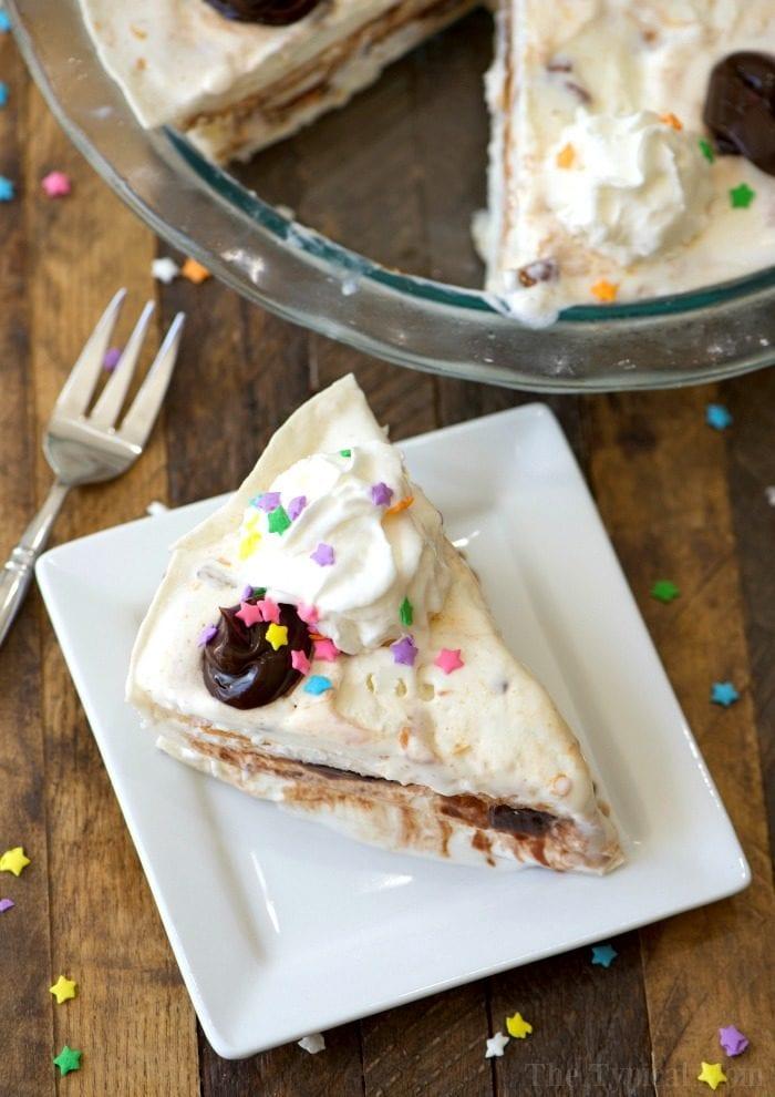 easy ice cream sundae pie 3