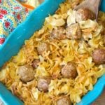 easy swedish meatball casserole 2