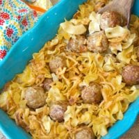 Easy Swedish Meatball Casserole