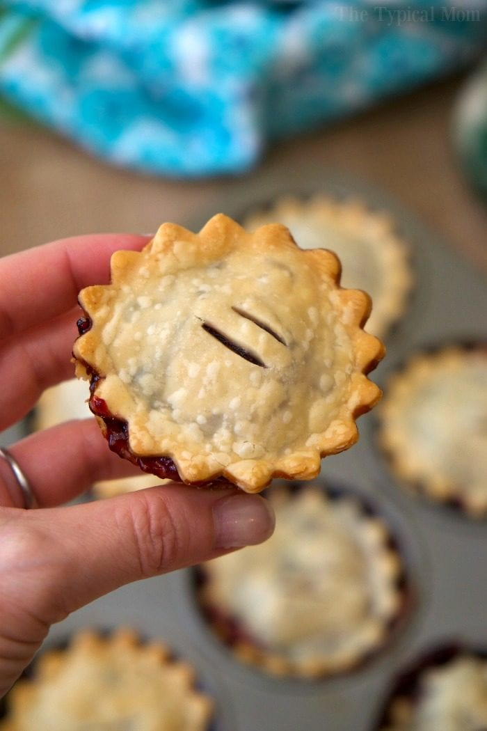 mini mixed berry pies 2