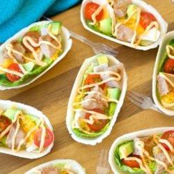 Turkey Burger Boats