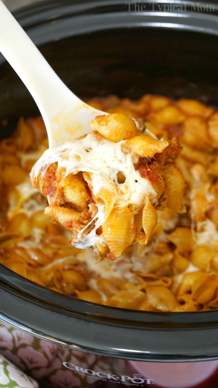 crockpot lasagna casserole 2