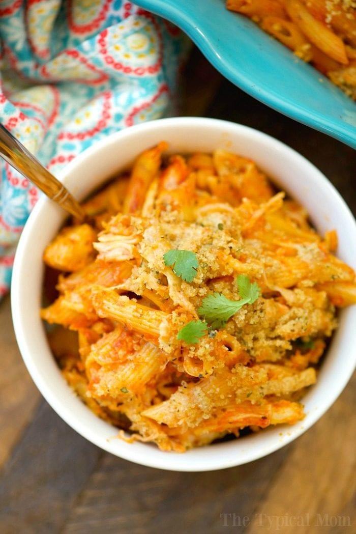 easy chicken parmesan casserole 6