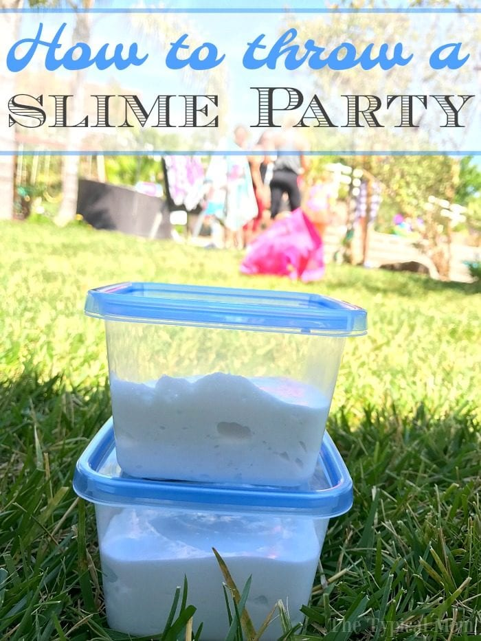 slime birthday party 2