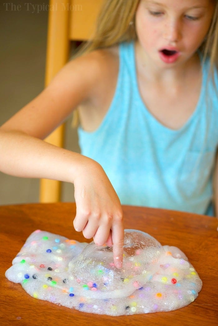 Easy baking soda slime recipe