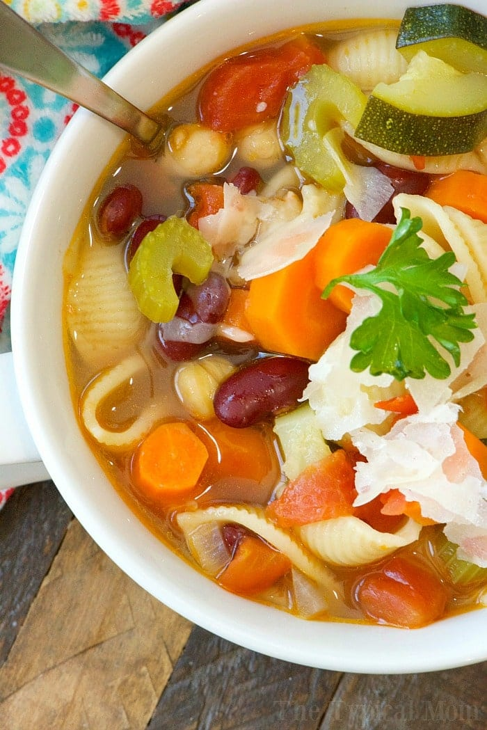 Easy Instant Pot Minestrone Soup 2