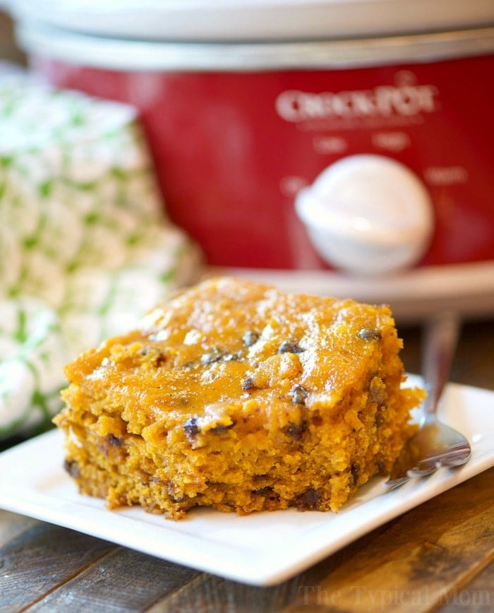 crockpot pumpkin chocolate chip bread 2