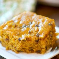 Crockpot Pumpkin Chocolate Chip Bread
