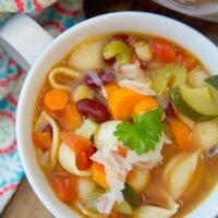 Easy Instant Pot Minestrone Soup