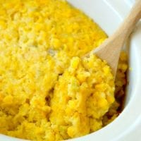 Easy Crockpot Corn Casserole Recipe