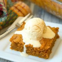 easy pumpkin pudding cake recipe