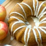 instant pot pumpkin apple cake 2