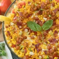 easy layered cornbread salad