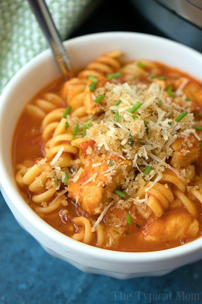 instant pot chicken parmesan casserole 2