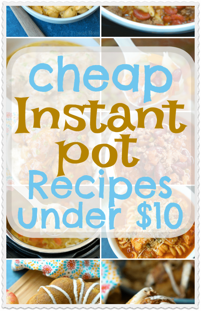 10 Cheap Instant Pot Recipes For Families Feeds Six