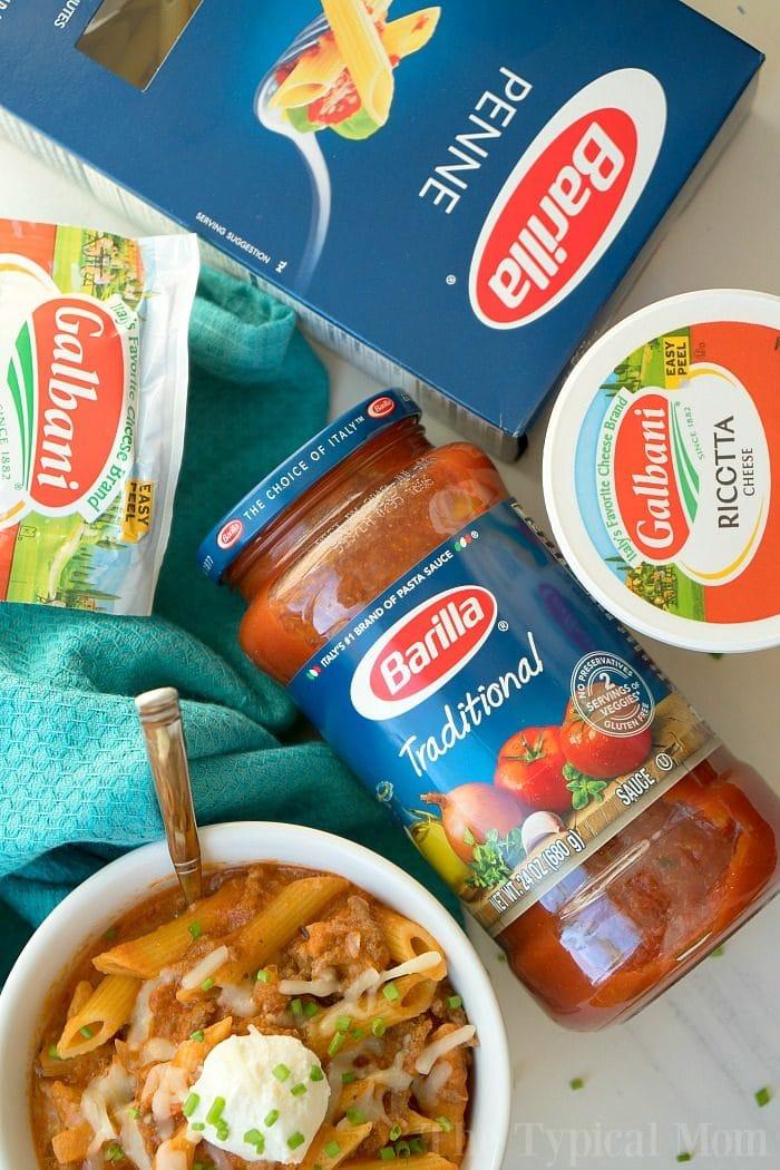 instant pot Lasagna Casserole