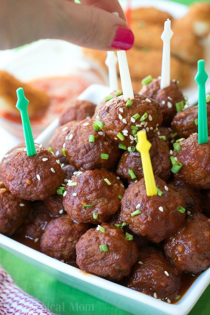 instant pot dr pepper barbecue meatballs 5