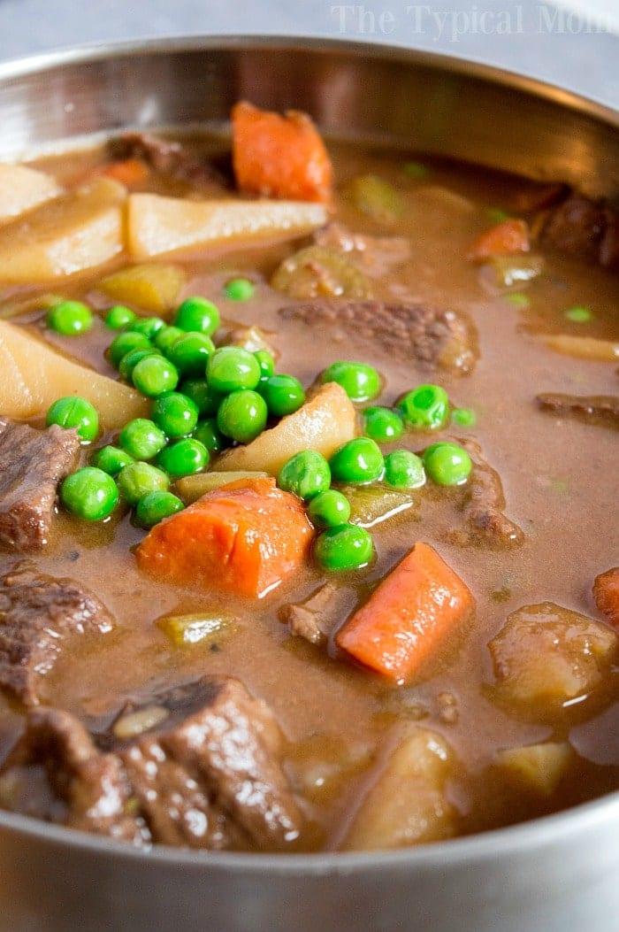 Easy Slow Cooker Beef Stew Recipe 2