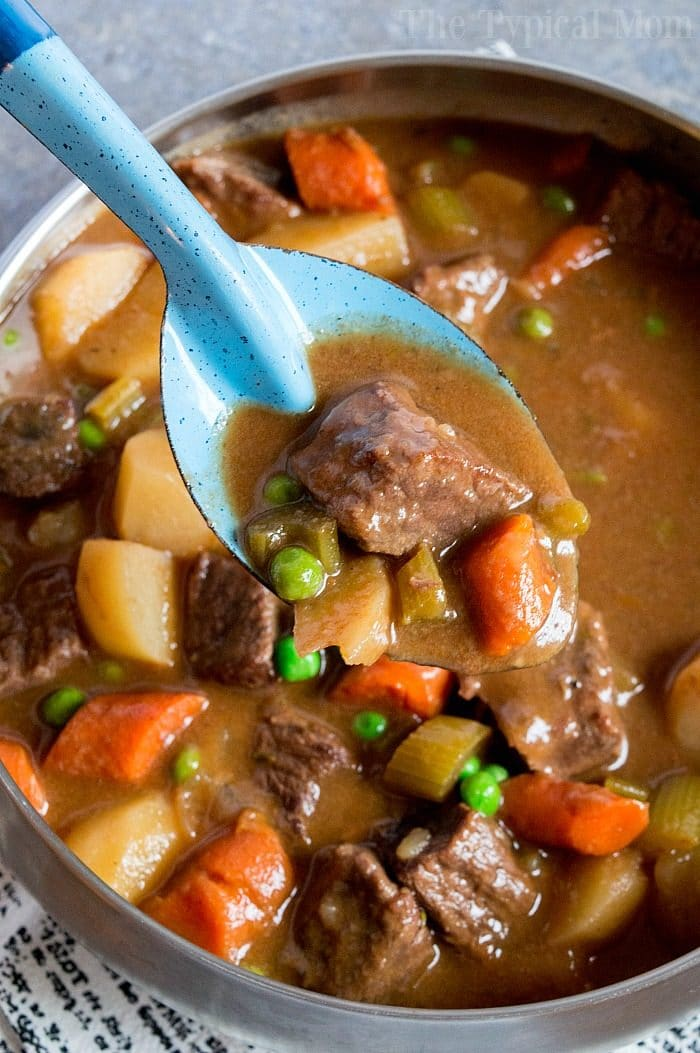 Easy Slow Cooker Beef Stew Recipe