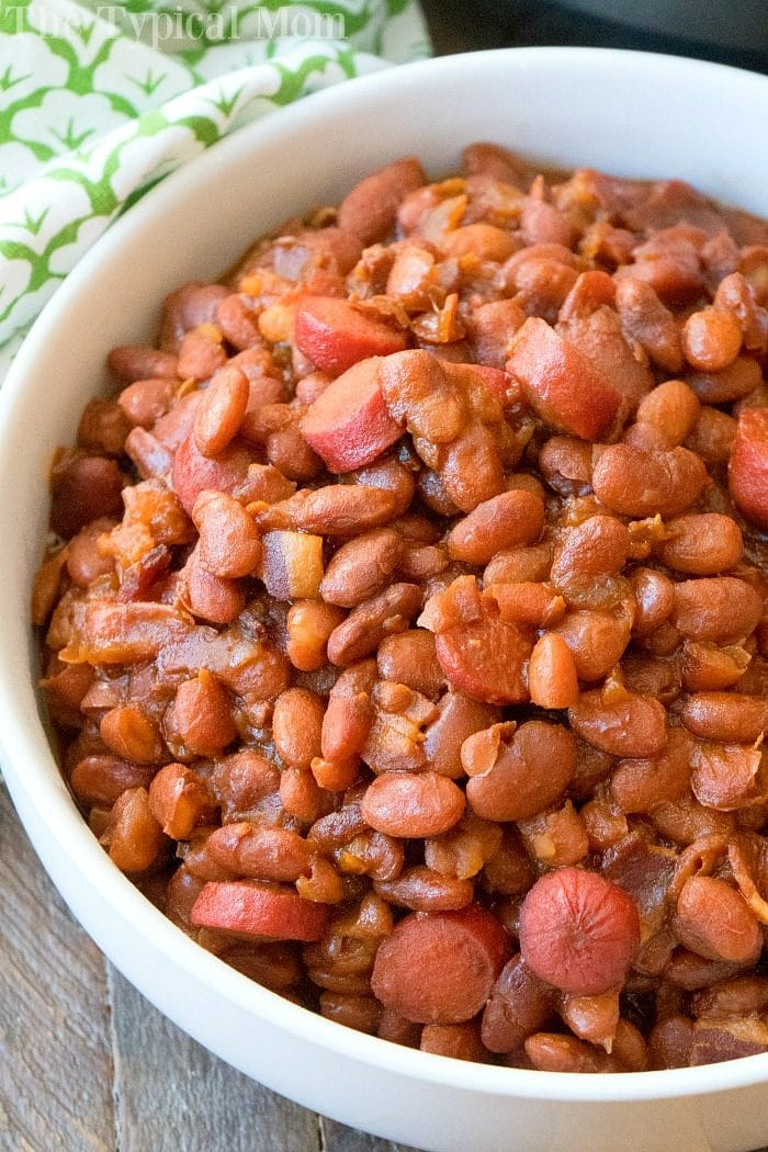 Instant Pot Beans and Franks 2