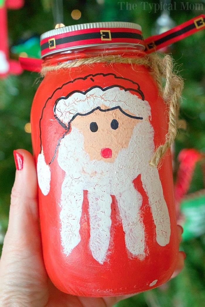 Santa Handprint Craft 3