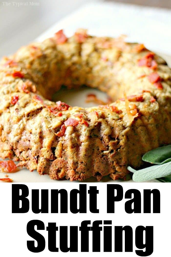bundt pan stuffing