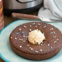 Instant Pot Chocolate Pudding Cake