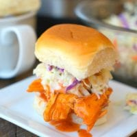 Spicy Electric Pressure Cooker Chicken Sliders