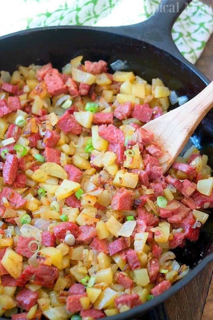 homemade corned beef hash recipe