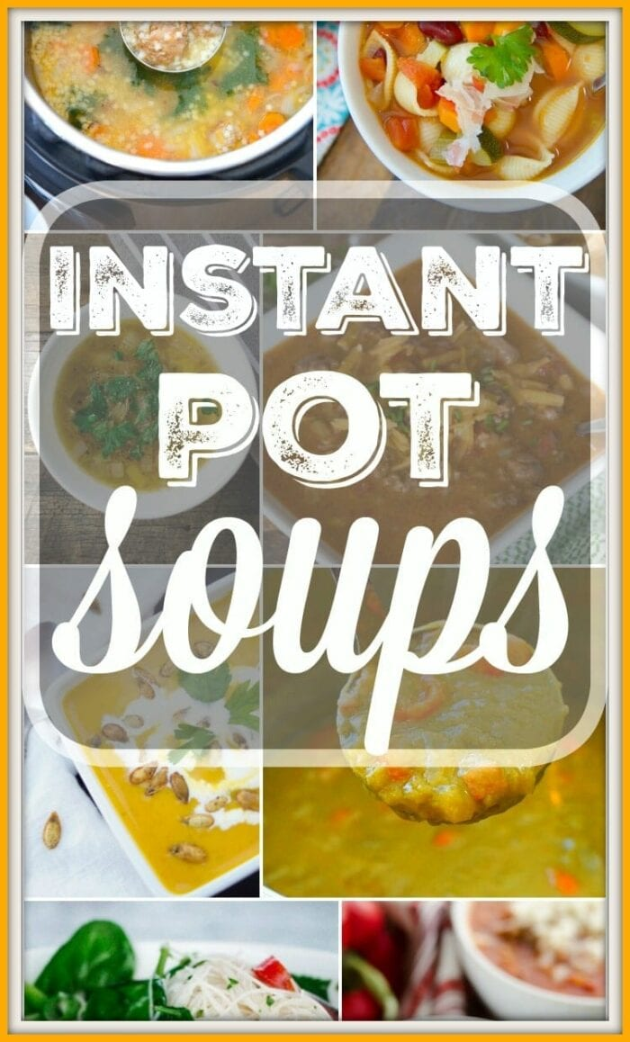 Instant Pot Soup Recipes 2