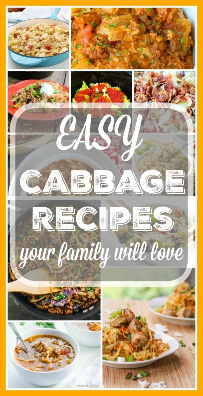 simple cabbage recipes