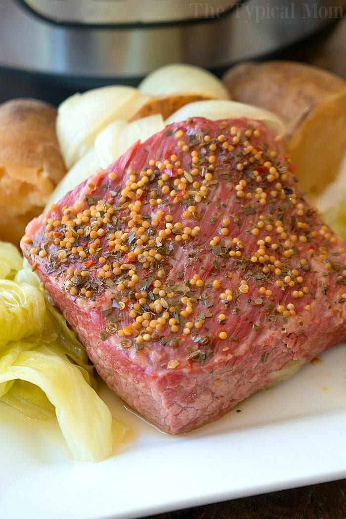 easy instant pot corned beef and cabbage 2